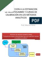 Curvas de Calibración en Los Métodos Analíticos (1)
