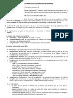 Pautas para analizar oraciones simples..pdf