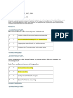 Sample Questions C SSF 1503