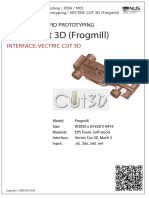 Vectric Cut 3d Frogmill