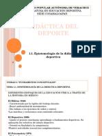 1.1. Epistemología de La Didáctica Deportiva