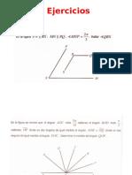 Geometria Plana Ejercicios Angulos Opuestos Por El Vertice, Alternos Internos, Alternos Externos y Correspondientes