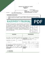 1 Razones y Proporciones