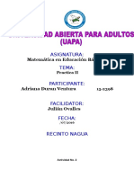 Practica II Matematica Basica Adriana Duran