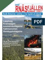 Ammarnäsfjällen sommar 2007