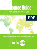 AIDS-Free World's Legal Consultation Center Resource Guide