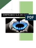 Emprobio Biógas (FORMULACIÓN Y EVALUACIÓN DE PROYECTOS)