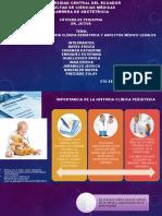Importancia de La Historia Clinica Pediátrica y Aspectos Medico Legales
