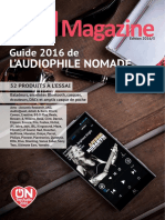 Guide Audiophile Nomade 2016