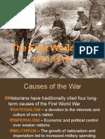 First World War .Ppt