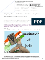 UPSC Exam 2016 _ Articles in Constitution of India _ BYJU's IAS Prep Tab