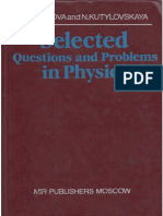 Selected Questions and Problems in Physics - Gladkovauestions and Problems in Physics - Gladkova