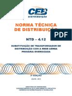 ntd 4.12 - substituicao de transformador com a rede primaria energizada 2a ed.pdf