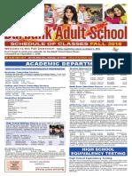 Burbank Adult Fall 16 Catalog