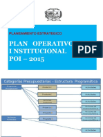 Exposic. Plan Operativo 2015