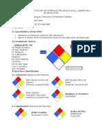 Inspección Nº3 Identificación de Materiales Peligrosos en El Laboratorio de Metalurgia