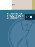 standards for ot assessments 2013