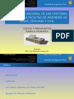 FÓRMULAS POLINÓMICAS EXPOSICIÓN