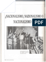 ¿Nacionalismos, nazionalismo o nacionalismo frontal?