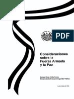 Consideraciones FAES y Paz 991