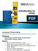 Intro to Osha Presentation