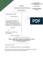 Makin v. CO Dept. Corrections, 183 F.3d 1205, 10th Cir. (1999)