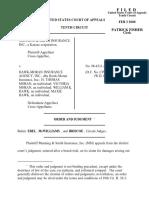 Manning & Smith Ins. v. Hawk-Moran Insurance, 10th Cir. (2000)