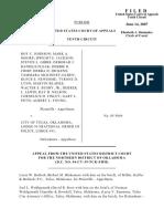 Johnson v. City of Tulsa, 489 F.3d 1089, 10th Cir. (2007)
