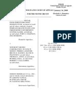 UFCW Local 880 v. Newmont Mining Corp., 10th Cir. (2008)