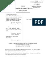 Utah Animal Rights Coalition v. Salt Lake County, 566 F.3d 1236, 10th Cir. (2009)