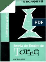 Teoría de Finales de Torre
