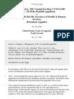 11 soc.sec.rep.ser. 185, unempl.ins.rep. Cch 16,380 Tim C. Teter v. Margaret M. Heckler, Secretary of Health & Human Services, 775 F.2d 1104, 10th Cir. (1985)