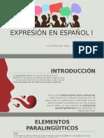 Expresión en Español i Erick (1)