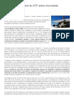 Seleção de Julgados Do STF Sobre Imunidade Recíproca _ Tributário & Concursos