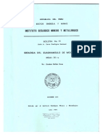 Geologia Del Cuadrangulo de Moquegua