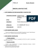 Memoriu Arhitectura Gard Preot Vama