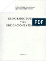 El Notario Público y sus Obligaciones Fiscales
