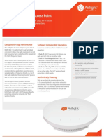 AirTight C 55 Access Point Datasheet