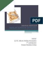 Anestesia Dental en La Operatoria Dental