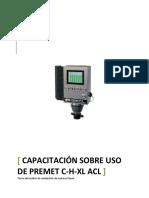 Capacitación Monitor de Presión de Cilindros de Motor de Combustión Interna Premet c Xl Axl