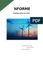 Energia eolica en Chile