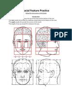 facial feature practice handout