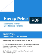 husky pride expectations  teacher resource