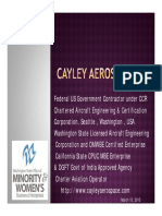 Cayley Aerospace Inc