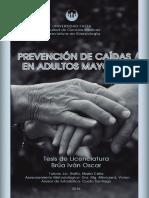 Prevención de caidas en adultos mayores