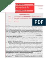 Sonderstudie Weltwährungssystem - Die Neuesten Entwicklungen