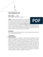 Queja 97-2014, Falsedad Generica y Estelionato