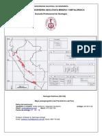 Mapa Paleogeográfico Del Precámbrico Del Perú