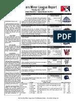 7.7.16 Minor League Report