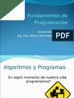 programas y Algoritmos